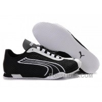 Puma H-Street Rising Plus Running Shoes BlackWhite 01 Online AZ4yb