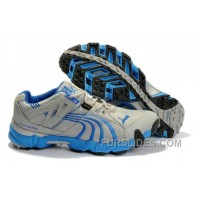 2010 Puma Running Shoes In Gray/Blue Free Shipping JA28W