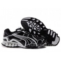 2010 Puma Running Shoes In Black/White For Sale XhEjYC