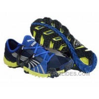 2010 Puma Running Shoes In Blue/Yellow Lastest Hhj48tn