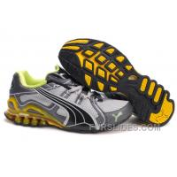 2010 Puma Running Shoes In Gray/Yellow/Green Lastest ZHZdHiD