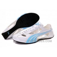 Super Deals Women's Puma 2 On Behalf Sandals White/Blue YT6d8X