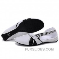 Free Shipping Women's Puma Ferrari Sandals I Black White 01 EeNHf