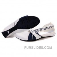 Authentic Women's Puma Ferrari Sandals I Blue White Sre2Q