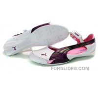 Top Deals Women's Puma Speed Princess Baller Sandals White/Purple KhrH4YJ