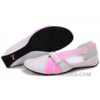 Discount Women's Puma BWM Sandals White/Pink WjaTh6