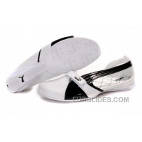 Authentic Women's Puma BWM Sandals White/Black Hnhz23