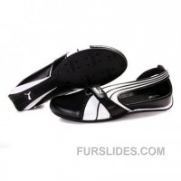 For Sale Women's Puma Ferrari Sandals I White Black 01 PE7cwyK
