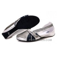 Authentic Women's Puma BWM Sandals Silver /Black GXk6W