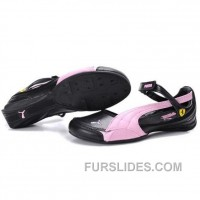 Women's Puma Ferrari Sandals III Pink Black For Sale SnEfs