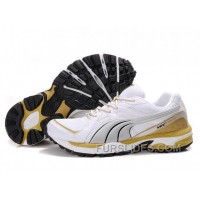 For Sale Puma Complete Vectana Shoes White/Silver/Yellow 1181 AadXYQ