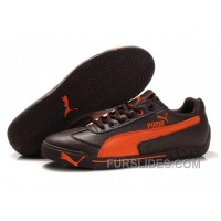 For Sale Puma Michael Schumacher Trainers Brown/Orange SzhPT