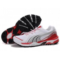 Lastest Puma Complete Vectana Shoes White/Silver/Red 1181 JbFJeW