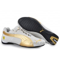 Authentic Puma BMW Shoes Grey/Gold JFyK5