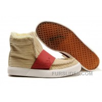 Puma El Roo Shoes Tan/Red Super Deals EExZi