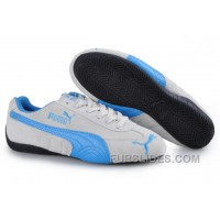Free Shipping Puma Speed Cat SD Trainers Grey/Blue SXr6bTy