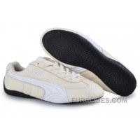 Cheap To Buy Puma Speed Cat US Shoes Tan/White DYBaa5