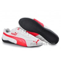 Cheap To Buy Puma Speed Cat SD Trainers Grey/Red T8TeQ