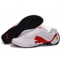 Women's Puma Speed Cat Big White/Red/Black Free Shipping SMsmEaB