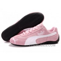 Puma Speed Cat SD Shoes Pink/White Top Deals BMAMm