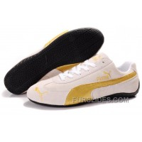 Puma Speed Cat SD Shoes Tan/Gold For Sale Zbbb7b