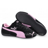 Puma Speed Cat SD Trainers Black/Pink For Sale AtfAMY