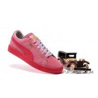 PUMA SPORTSTYLE SUEDE Womens Colorful Pink Online