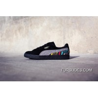 PUMA SUEDE BHM JERSEY Mid Black History Month BLACK GREY Authentic