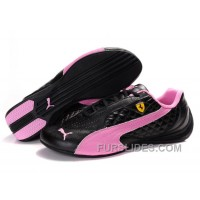 Women's Puma Suede Black-Pink Top Deals CbkCS