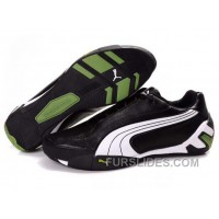Mens Puma Tour Cat Lo L In Black/White/Green Free Shipping PzCrd8C