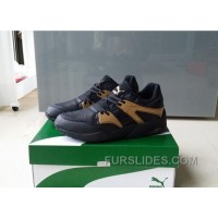 PUMA TRINOMIC BLAZE 362022-01 Black Gold Top Deals