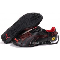 Mens Puma Trionfo Low In Baylee Black/Red Super Deals 3HRMj