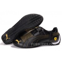 Mens Puma Trionfo Low In Baylee Black/Gold Authentic E8tCEAE