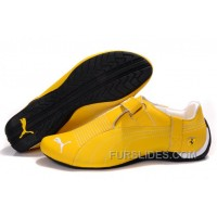 Mens Puma Trionfo Low Baylee In Yellow/White Lastest CKbHi2C