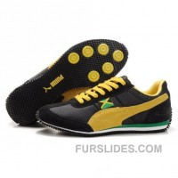 Men's Puma Usain Bolt Running Shoes Black Yellow Online NfBaE