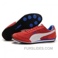 Men's Puma Usain Bolt Running Shoes Red White Lastest K7TyM