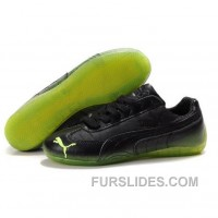 Women's Puma Voltaic Shoes Black Green For Sale HHaW7
