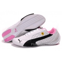 Super Deals Women's Puma Wheelspin White/Black/Pink S7GQr3