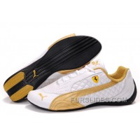 Authentic Women's Puma Wheelspin White/Gold FspPePy