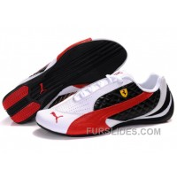 Men's Puma Wheelspin In White/Black/Red For Sale FRT5K85