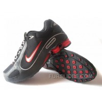 Men's Nike Shox Monster Shoes Black/Red Cheap To Buy