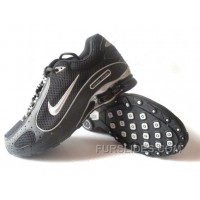 Men's Nike Shox Monster Shoes Black/Silver Lastest