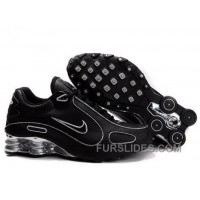 Men's Nike Shox Monster Shoes Black/Silver For Sale
