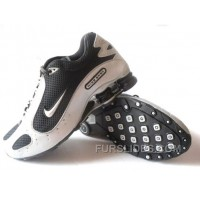 Men's Nike Shox Monster Shoes White/Black New Release