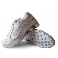 Men's Nike Shox Monster Shoes White/Grey Lastest