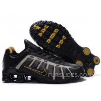 Men's Nike Shox NZ Shoes Black/Grey/Brown Online