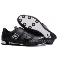 Men's Nike Shox R3 Shoes Black/White Top Deals