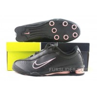 Women's Nike Shox R3 Shoes Black/Light Pink New Release