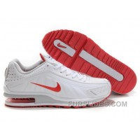 Men's Nike Shox R4 & Air Max LTD Shoes White/Grey/Red For Sale