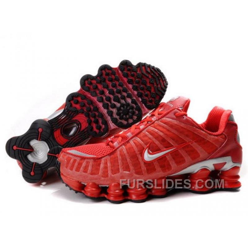 a869534bfb9f Women s Nike Shox TL Shoes Gym Red Silver New Release